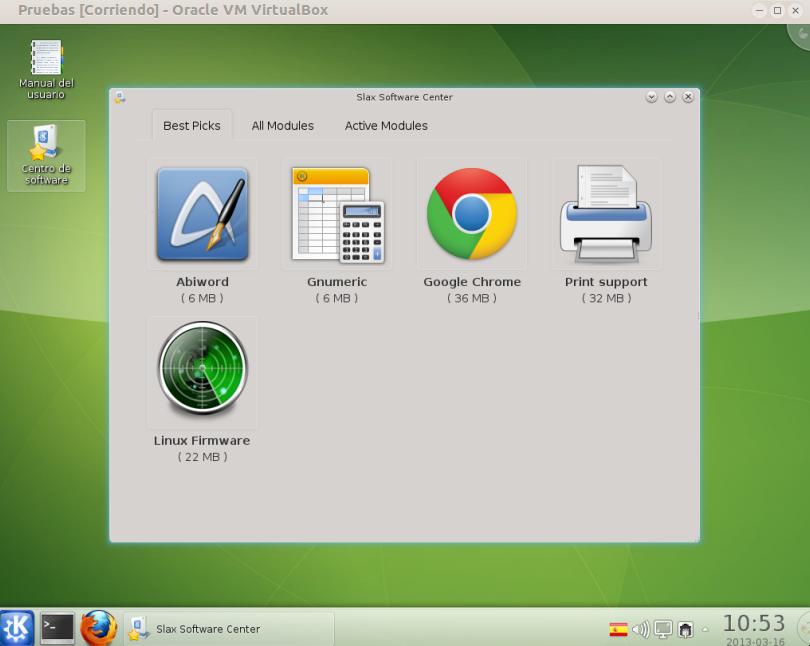 Slax706-software-center