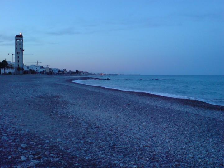 Playa en blue