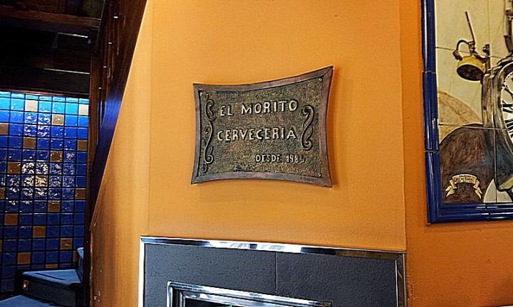El Morito. Placa