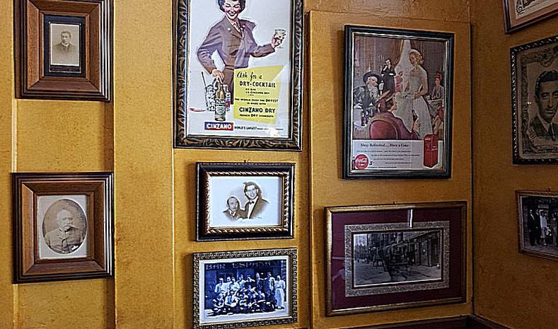 Café España. Decoración