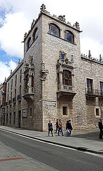 Esquina de la Casa del Cordón en la calle Santander