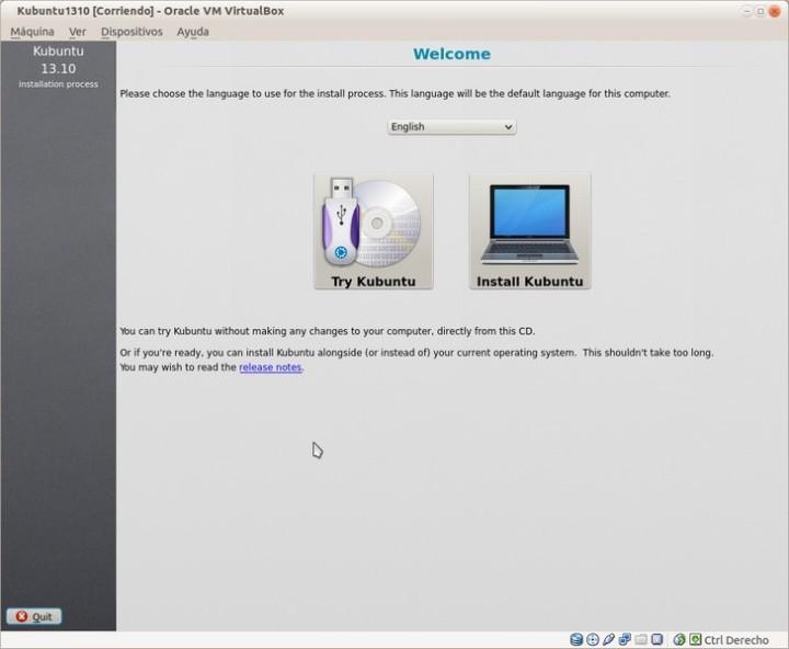 Kubuntu1310-Bienvenida