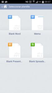 KingsoftOffice-Menú