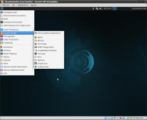 UbuntuStudio1404-MenuDeDiseñoGráfico