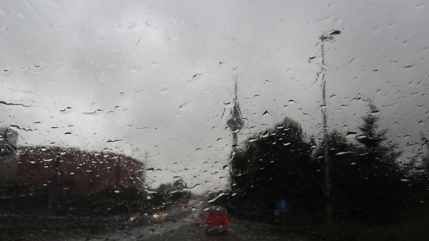 Llueve sobre el Pirulí