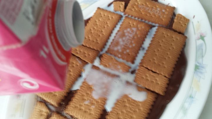 Más leche para las galletas