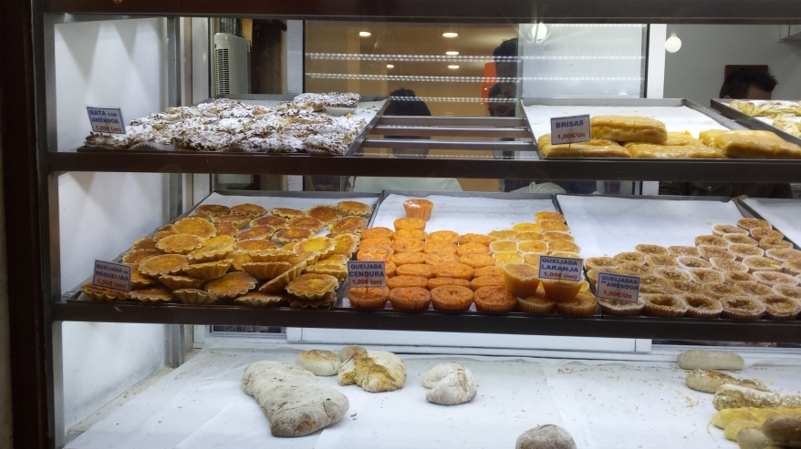 Buenísimos pasteles de almendra