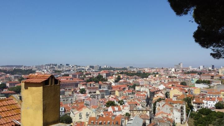 Vista de Lisboa desde Gracia
