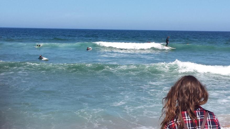 Surfistas en Praia do Guincho