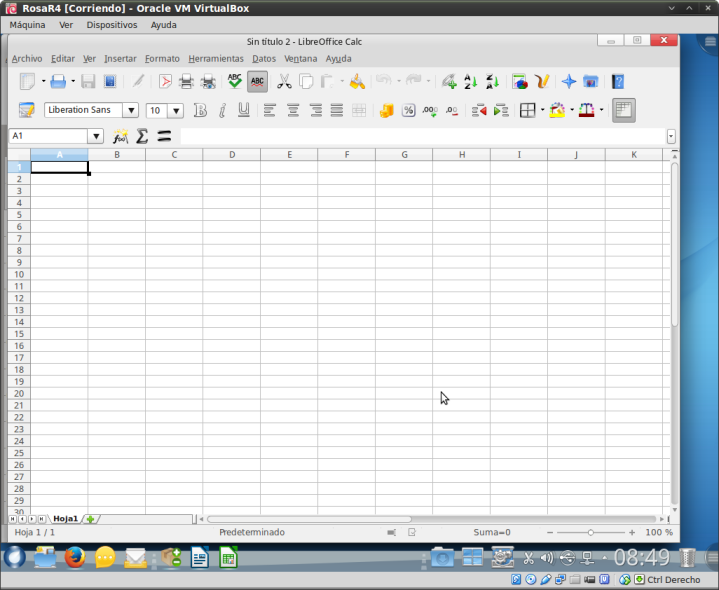RosaR4 - Libre Office Calc