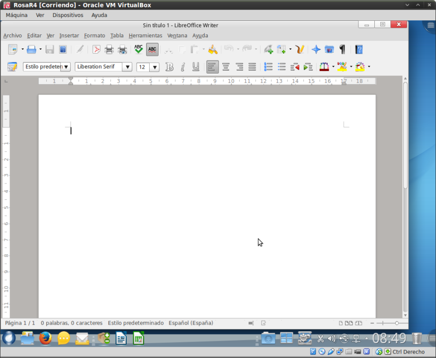 RosaR4 - Libre Office Writer
