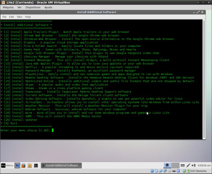 Lite2-MenuParaInstalarFacilmenteSoftwareAdicional