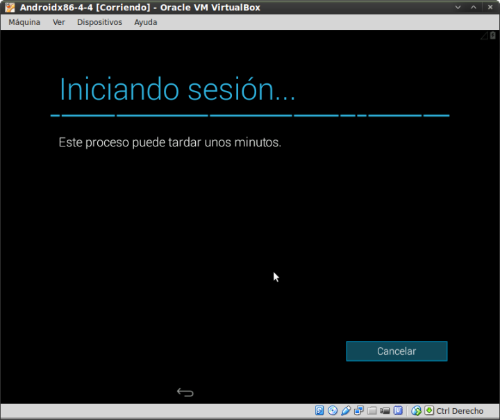 Pantallazo-Androidx86-4-4 [Corriendo] - Oracle VM VirtualBox-5