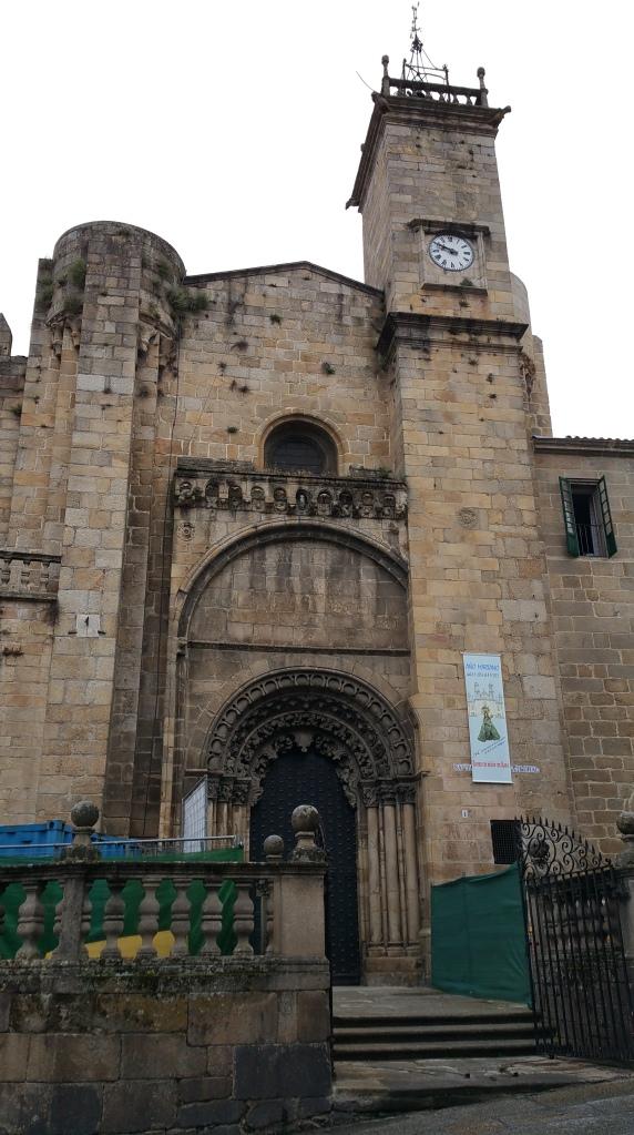 Orense: catedral, fachada Sur