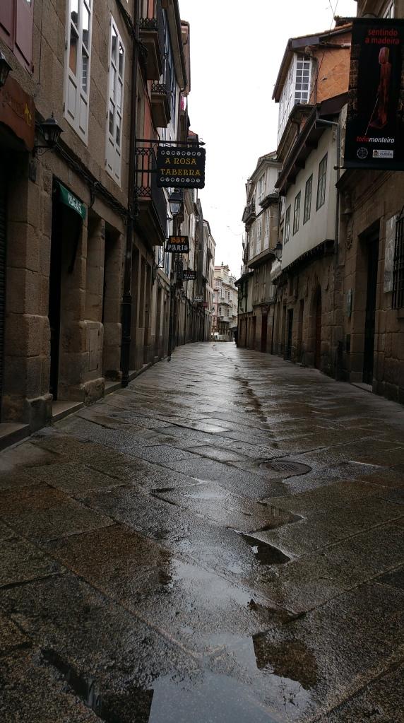 Orense: Calle peatonal