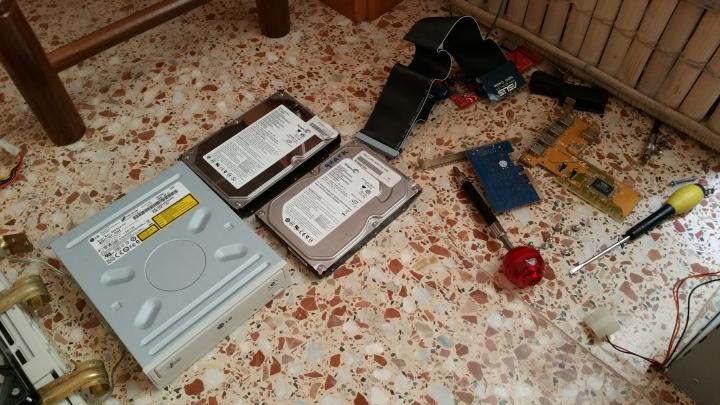 Discos y otros componentes