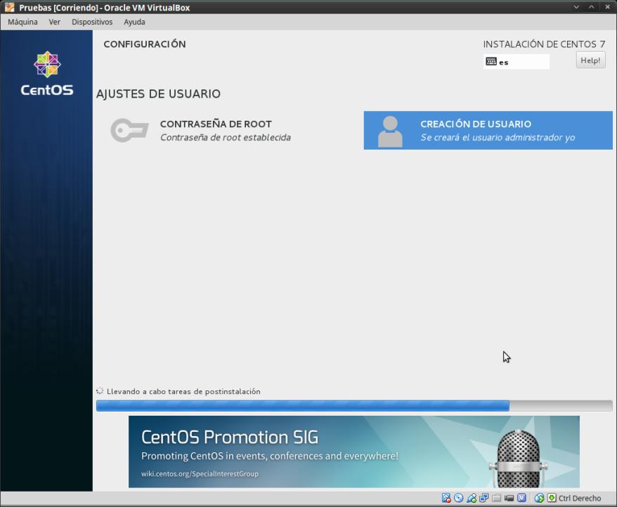 CentOS 7.1 -Instalación con Anaconda