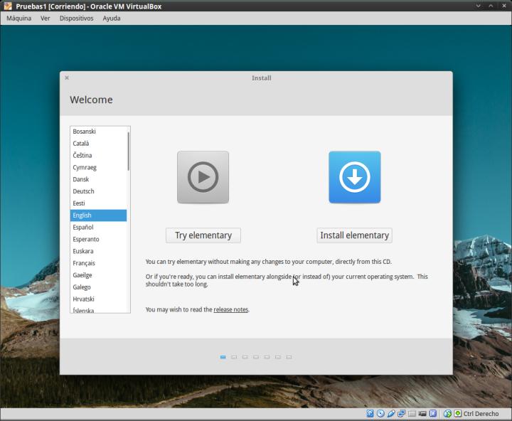 Elementary OS 03 -Me pruebas o me instalas?