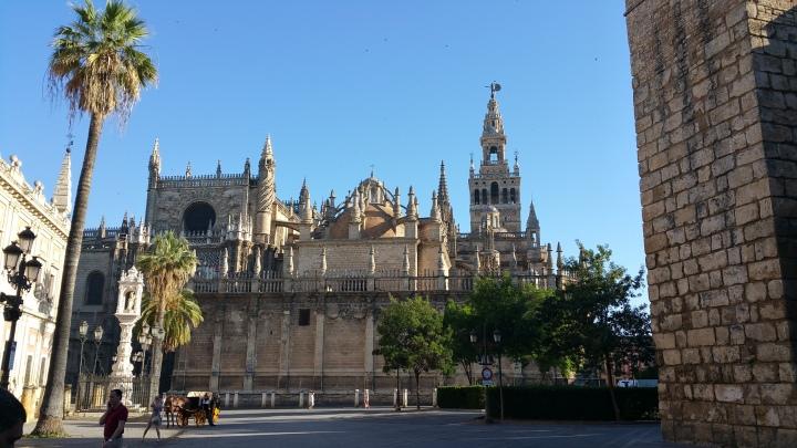 Sevilla.- La Catedral y la Giralda