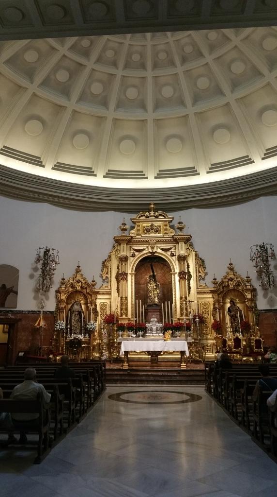 Sevilla.- Capilla de El Cristo del Gran Poder