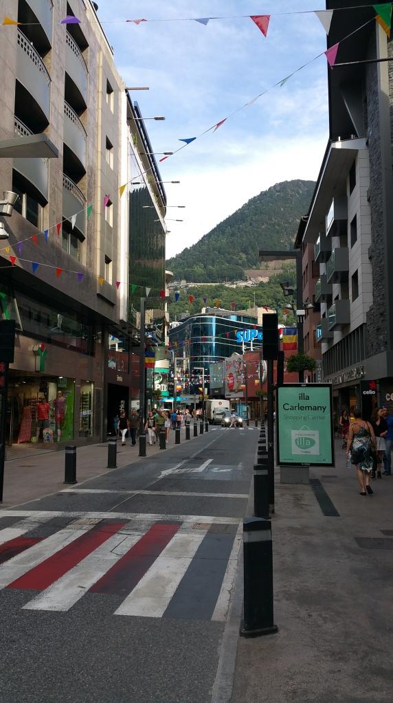 Andorra la Vella. Agradable sensación de calma