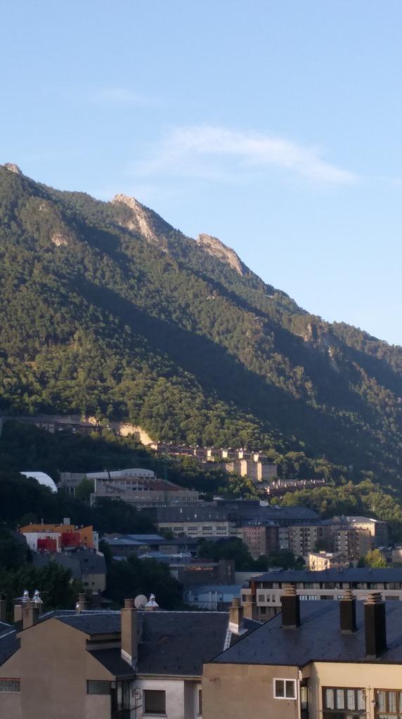Andorra la Vella. Desnivel