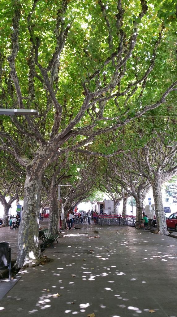 Parque en La Seu D'Urgell