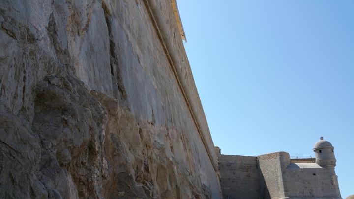 Peñíscola- Detalle de las murallas