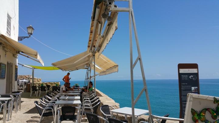 Peñíscola- El mar templando el clima