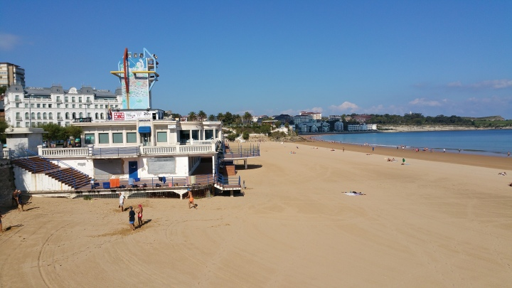 Santander- El Sardinero, playa urbana