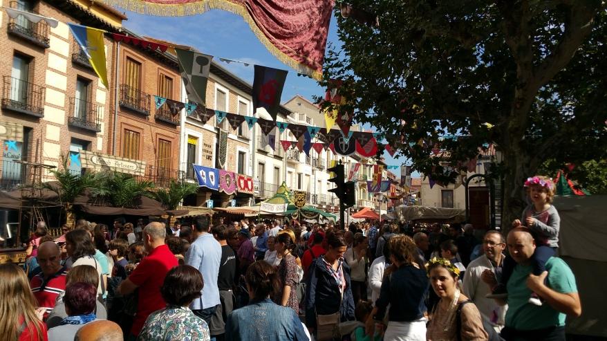 Mercado Cervantino de Alcalá- Gente