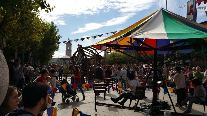Mercado Cervantino de Alcalá- También pensado para niños