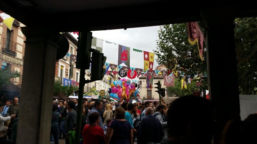 Mercado Cervantino de Alcalá- Pórticos