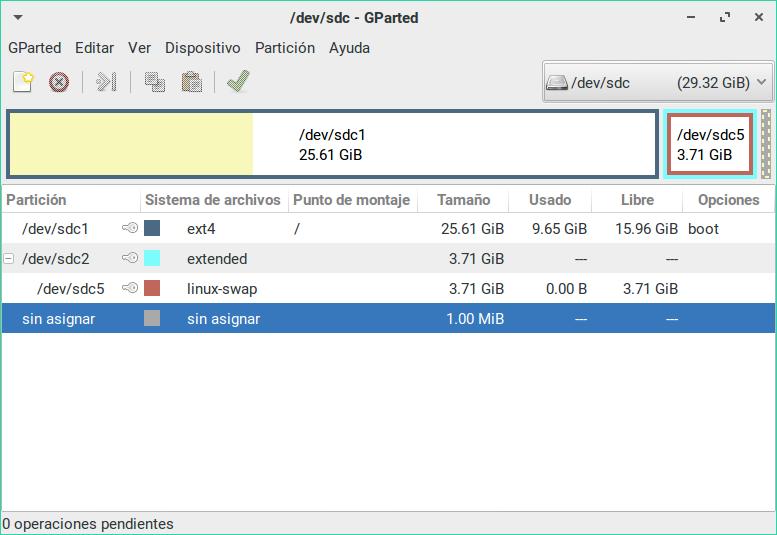 ZorinEnMinix-LinuxEnParticionesEnDiscoUSB