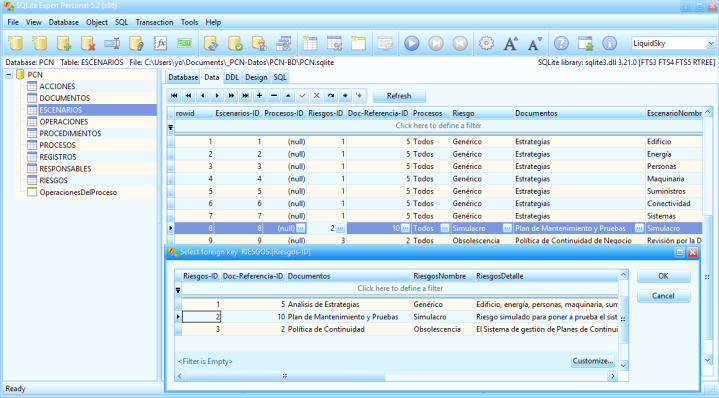 SQLiteExpert