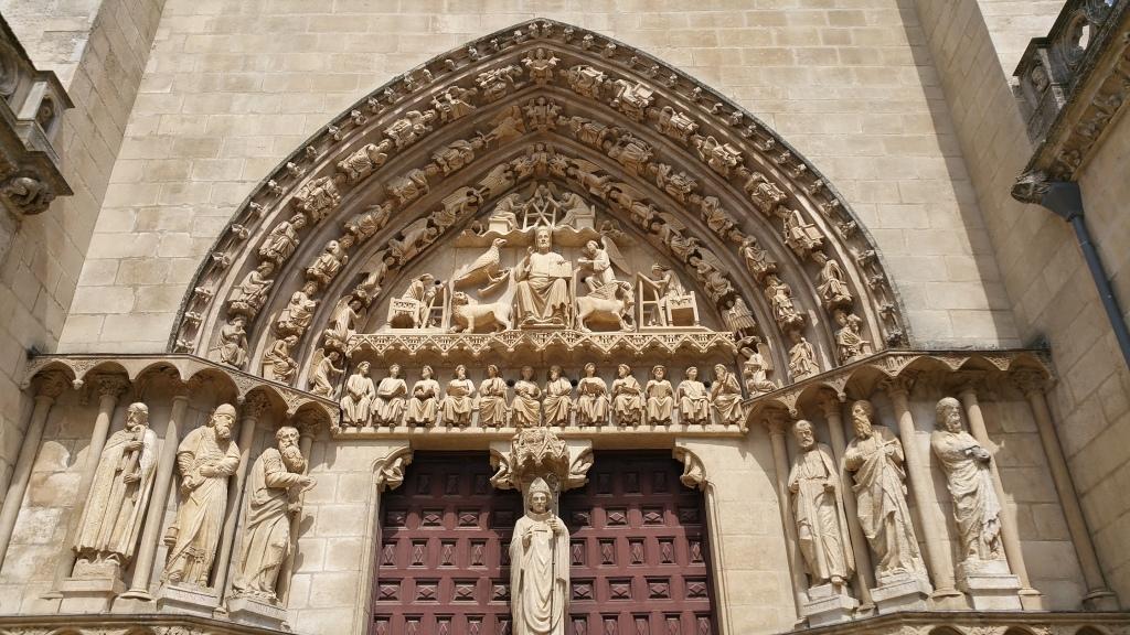 Pórtico de la catedral de Burgos